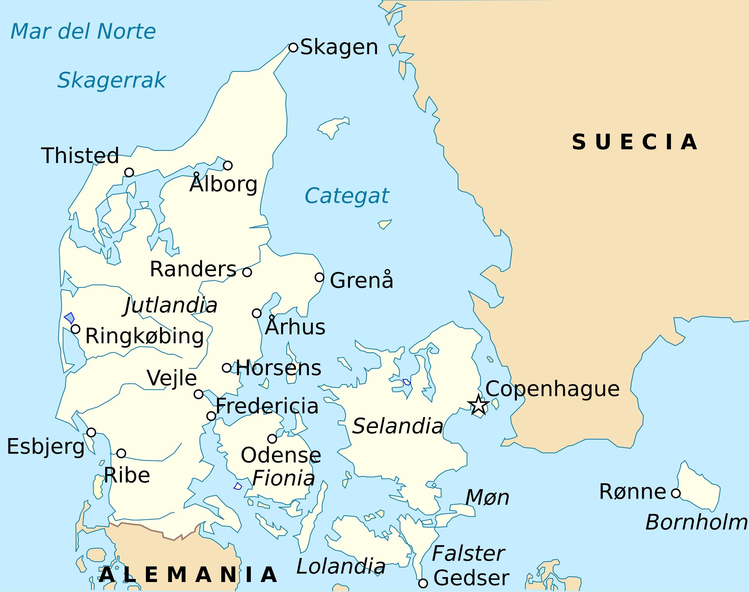 Fredericia Tanska Kartta Kartta Fredericia Tanska Pohjois